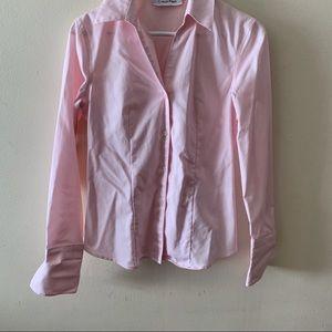 Calvin Klein Non Iron Pink Dress Shirt